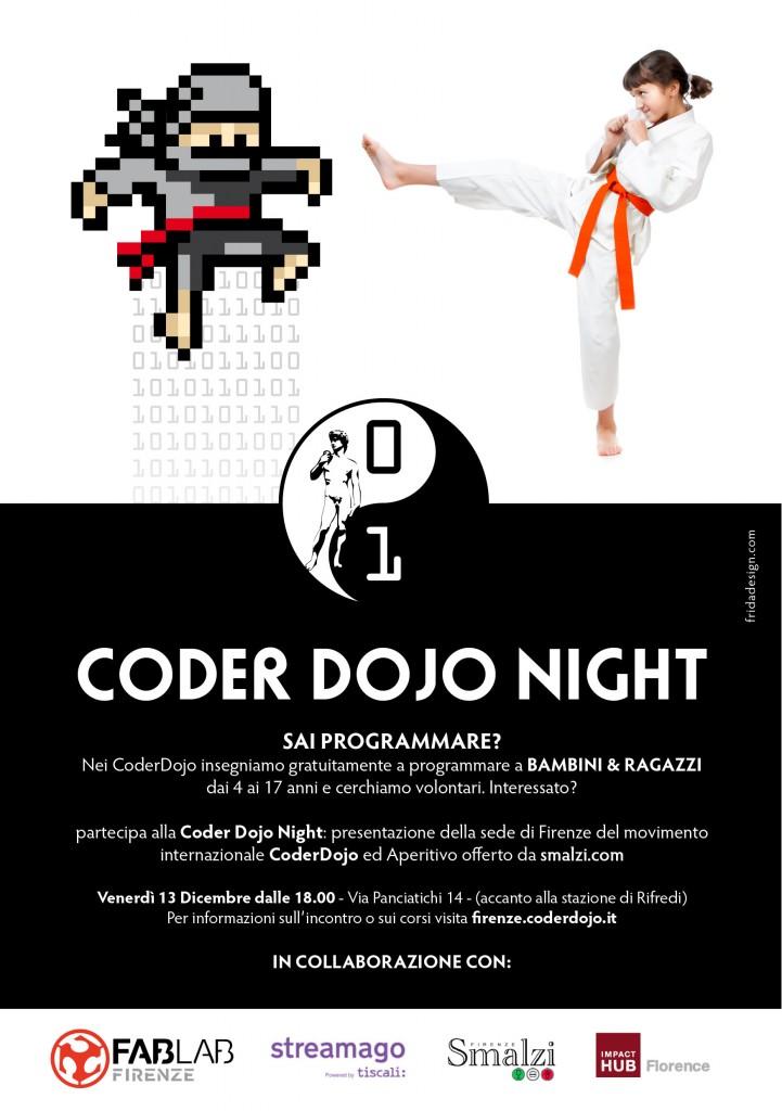 Locandina coder night